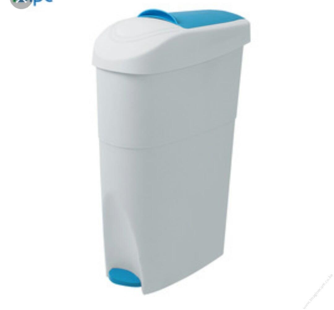 sanitary-bin-pedal-18l-white