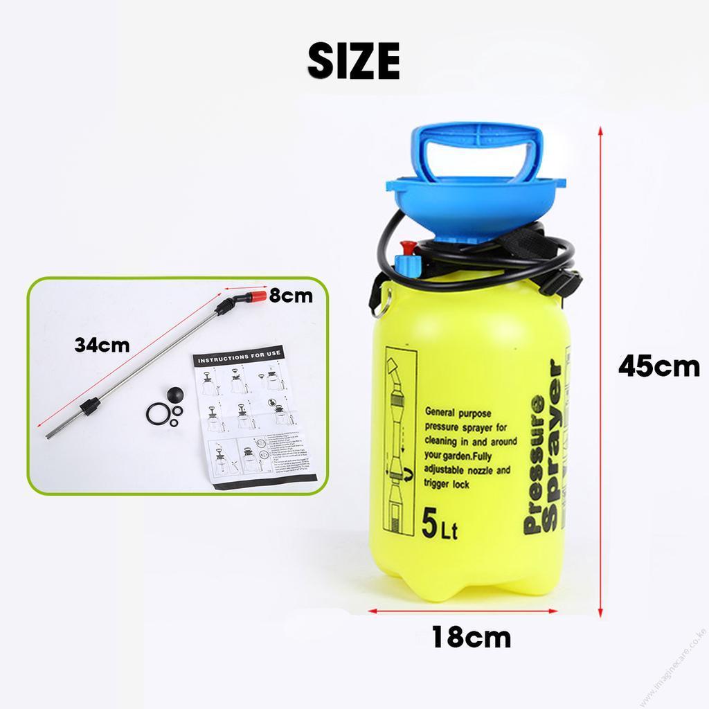 manual pressure sprayer