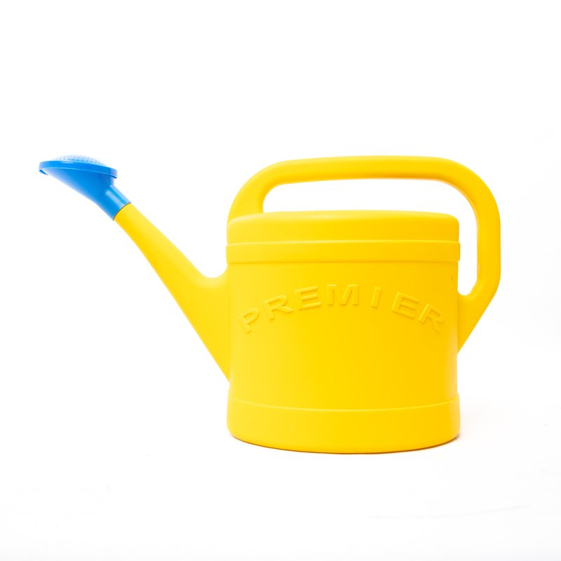 premier watering can yellow
