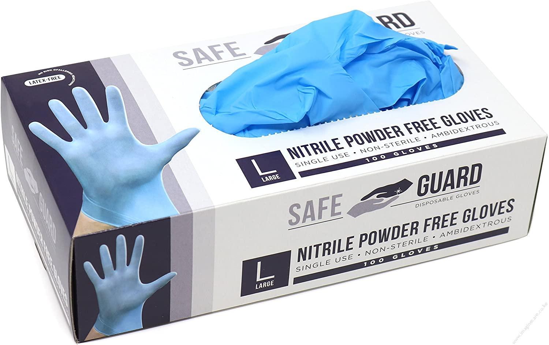 Nitrile Blue Gloves in kenya