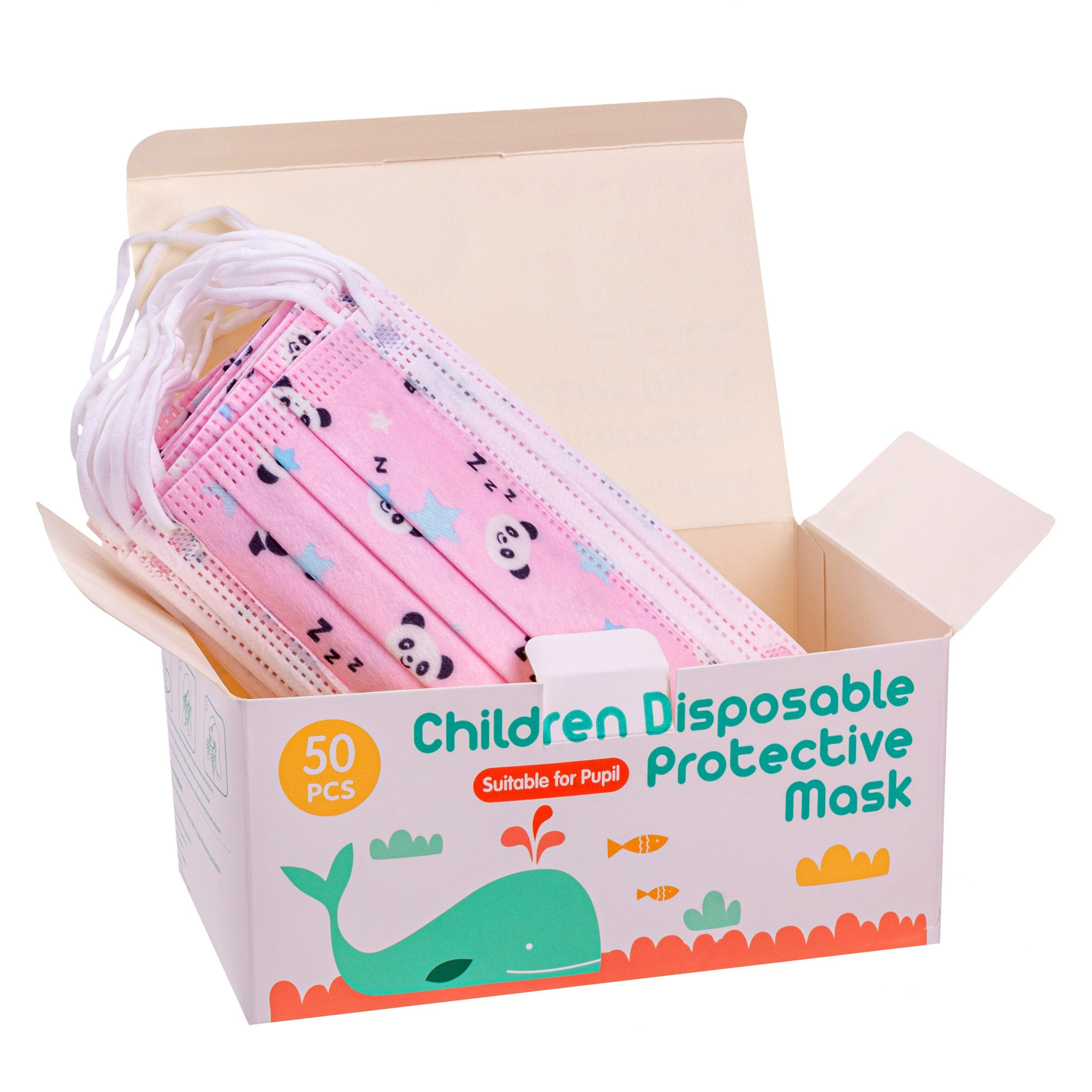 3 Ply Cartoon Kids Masks