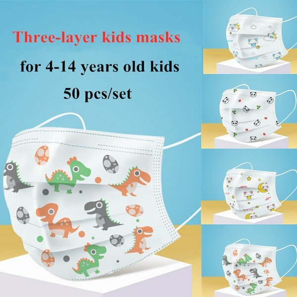 buy 3ply face mask for kids