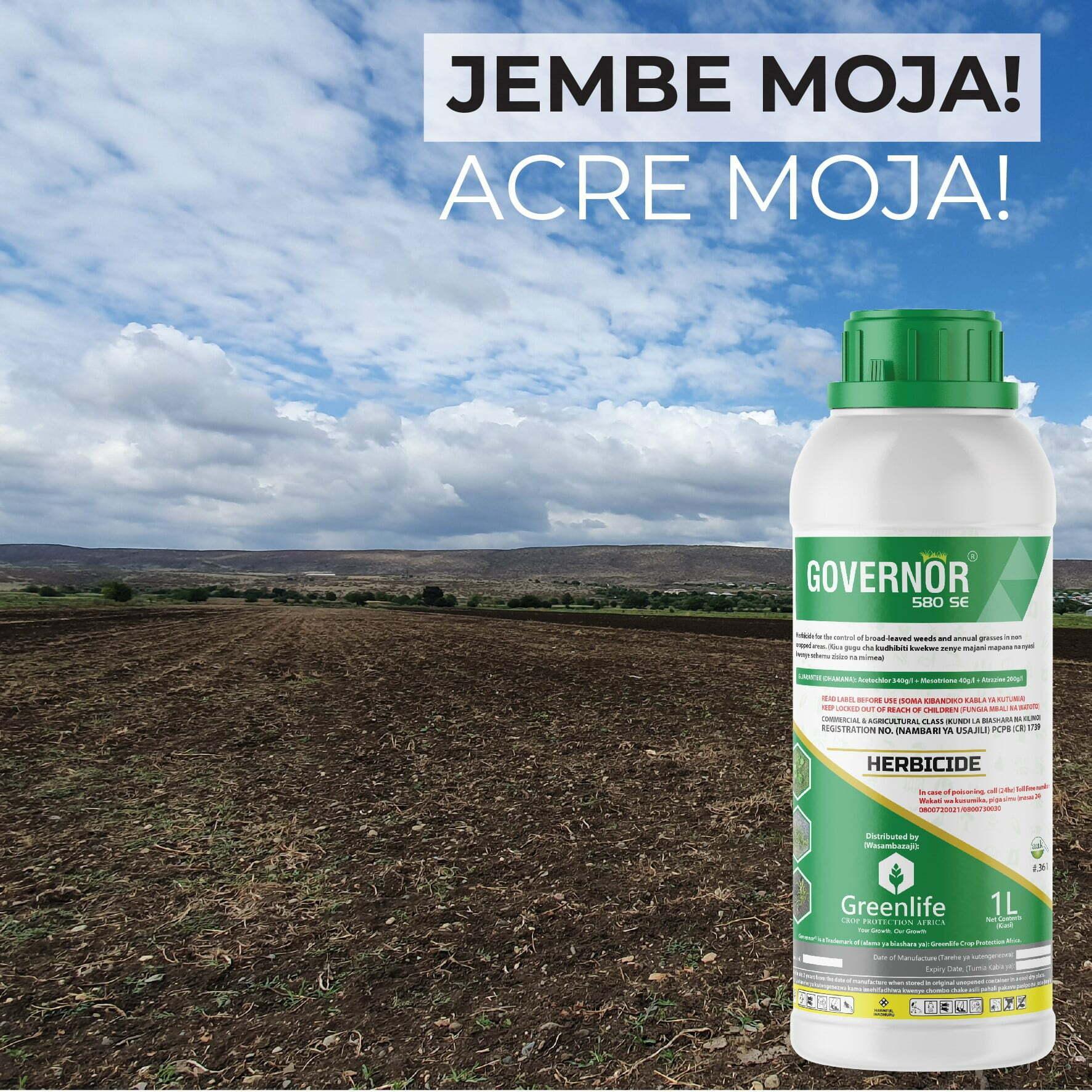 Governor 580 SE maize herbicide
