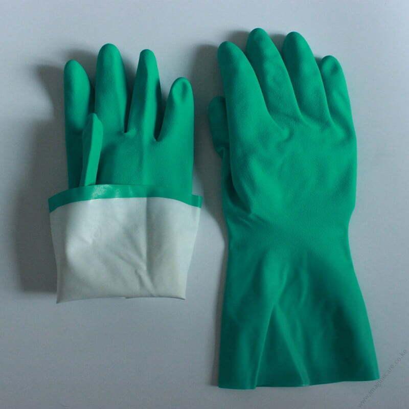 Nitrile heavy duty Industrial Gloves