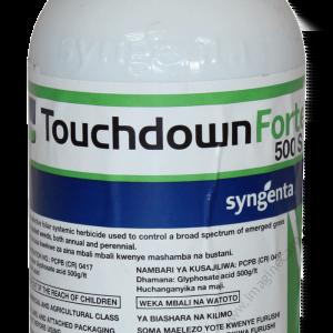 Touchdown Forte 500 SL non selective herbicide