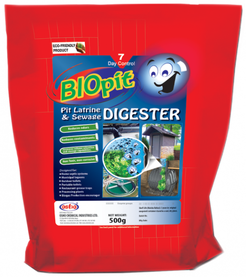 Bio Pit Latrine & Sewage Digester