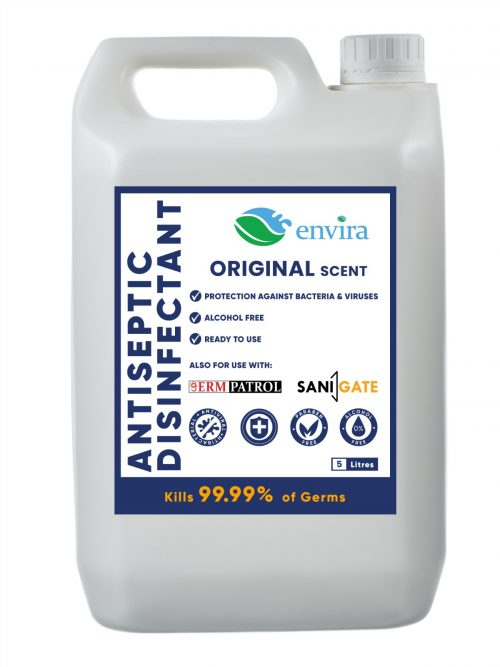 Antiseptic Disinfectant by envira